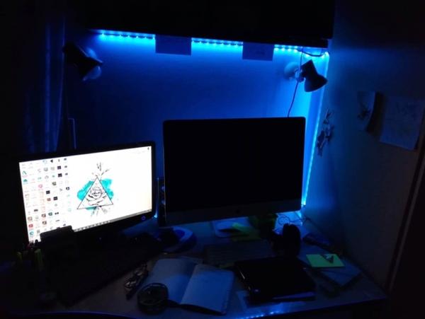 avete le luci led in camera