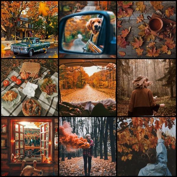 45 и 45Пиар  сундук на 9 ячеек  смешанный  тема  меланхолия  осень  от