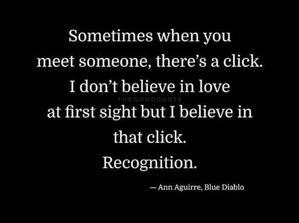 Was denkst du über Liebe auf den ersten Blick