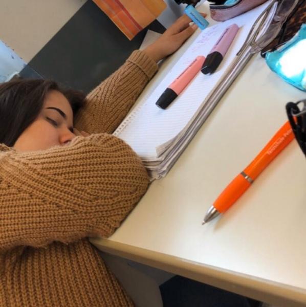 Bist du in der Schule schon einmal eingeschlafen
