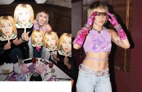 NEWS  26 marca Miley świętowała 15 rocznicę Hannah na imprezie Miała wtedy na