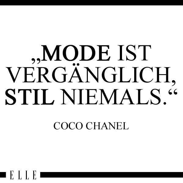 Coco Chanel jeder kennt den Namen wenige kennen die Geschichte Woran denkst du