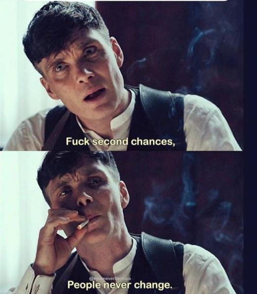Glaubst du dass jeder Mensch eine zweite Chance verdient