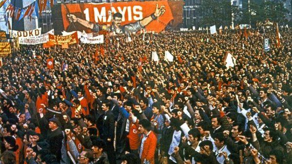 bugün işçinin emekçinin emeğin alın terinin özgürlüğün ve demokrasinin