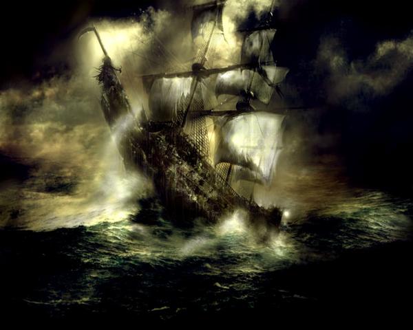 Flying Dutchman  Latający Holender Najsłynniejszy statek widmo na świecie Jest