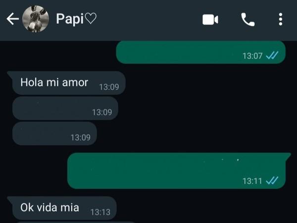 Como les trata su papá a mi me dice hijo