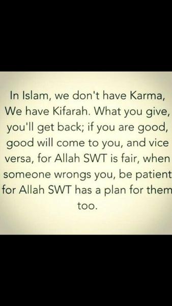 Do you believe in Karma