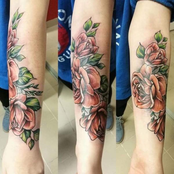 Echtes Tattoo HennaTattoo oder gar kein Tattoo