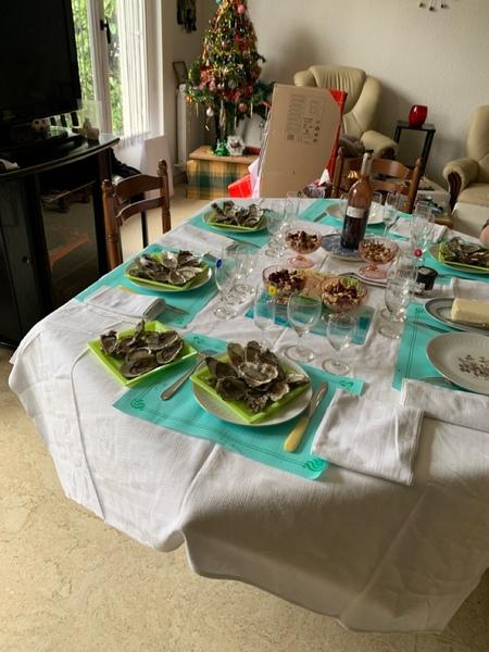 Poste une photo de ta table de Noël