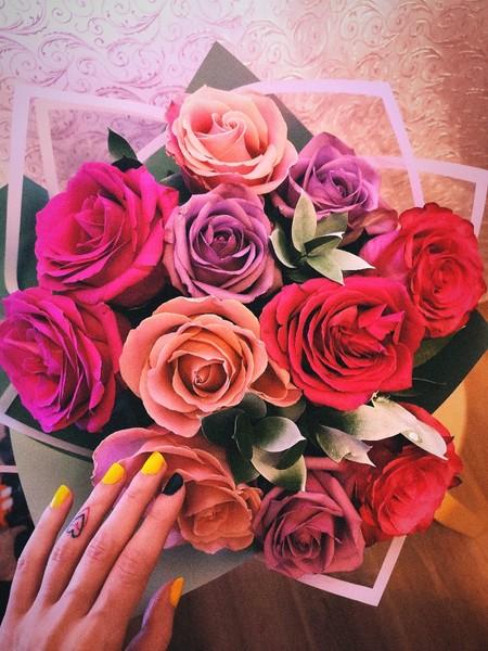 Какие твои любимые цветы Ответь картинкой