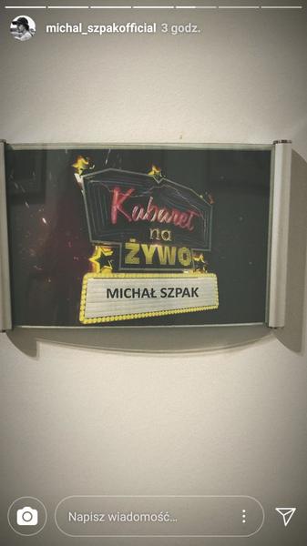 Kochani Michał dzisiaj będzie w Kabaret na Żywo na POLSACIE o godz 2105
