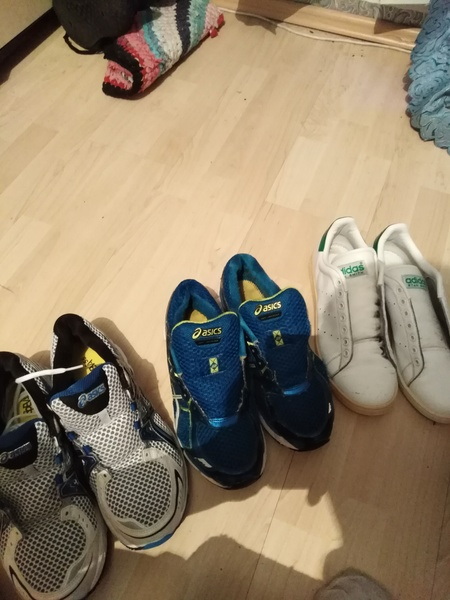 Сколько у тебя пар обуви