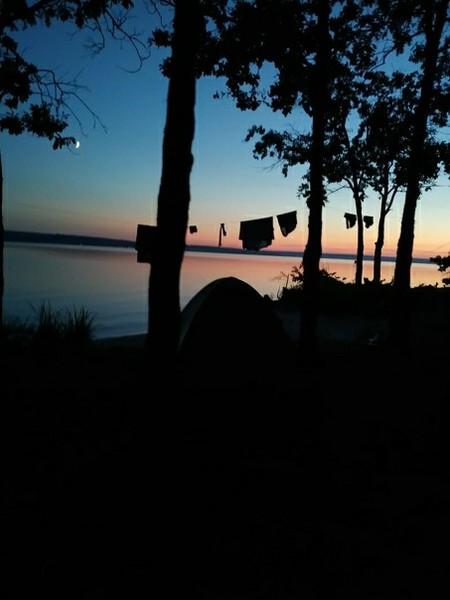 Ты когданибудь ходила в поход с палатками