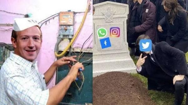 WhatsApp Instagram and Facebook kisi ka chal raha ha