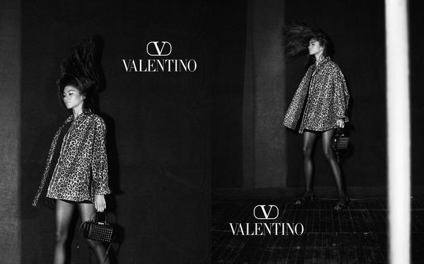 NEWS Zendaya dla kampanii Valentino Roman Palazzo w obiektywie Davida Sims