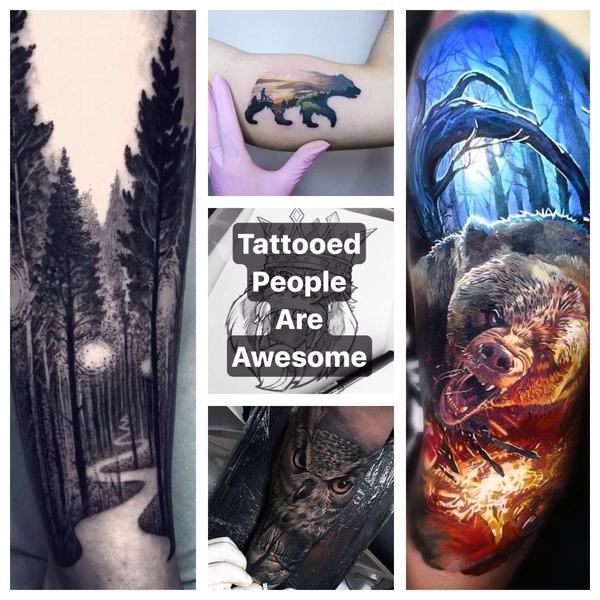 Też tak myślę kierując się bardziej z tatuażem pod względem lasu lub lub