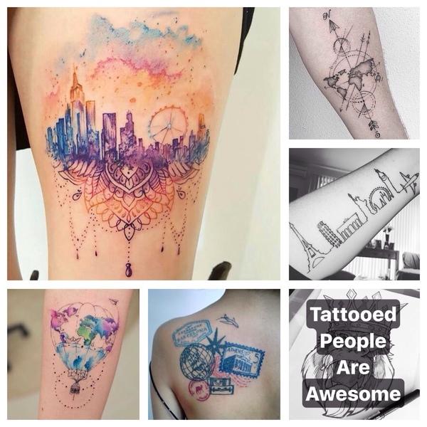 Podróżowe tatuaże
