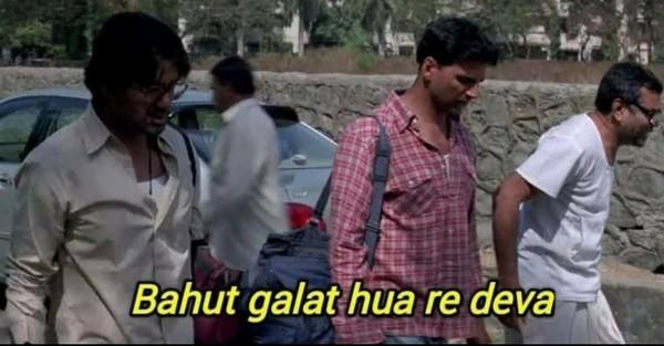 When she said I love you as a friend