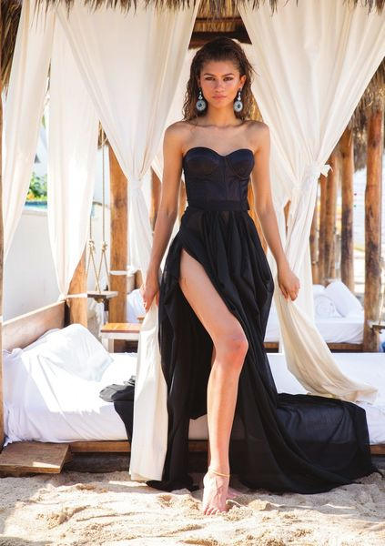 Zdjęcie Zen w długiej sukience