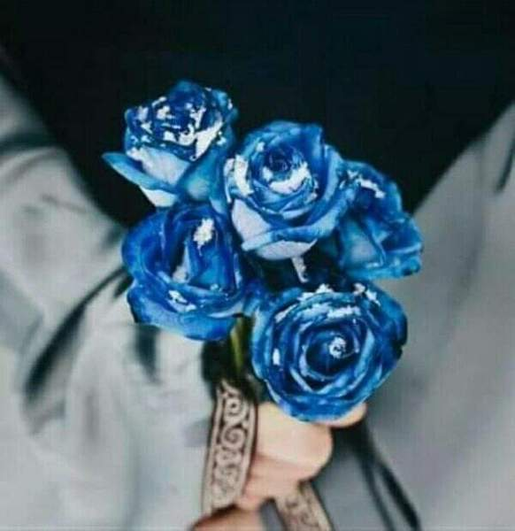 صورة زرقاء