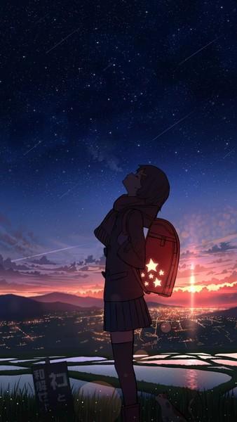 Domanda notturna Da piccola mia mamma mi diceva spesso che le stelle le più