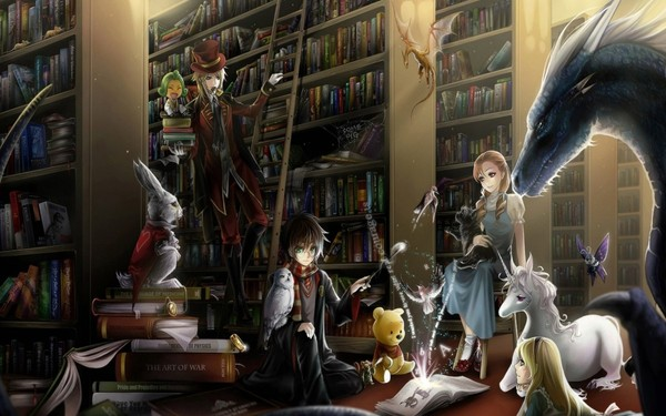Мне нравятся книги в которых реализм совмещен с фантазией Я сам так в жизни