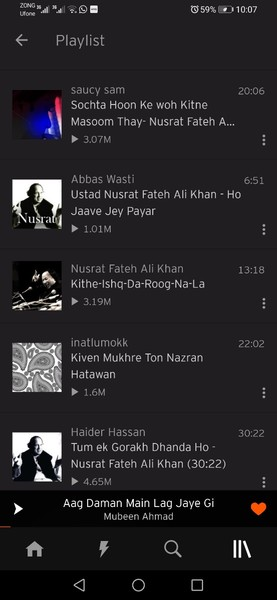 Share your playlist