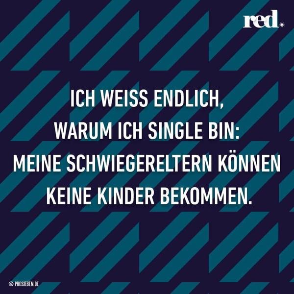Wieso single