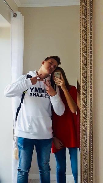 Bild von dir und deiner Freundin