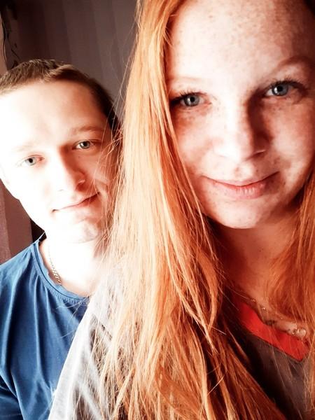 Последнее фото с мужем