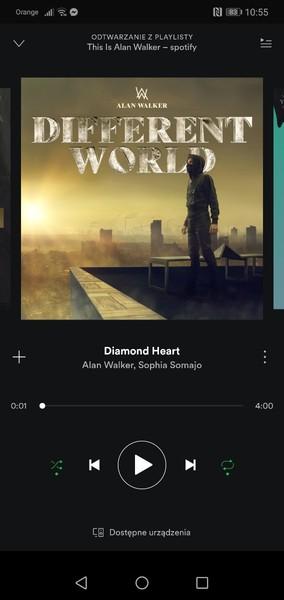 Której piosenki zdarzyło Ci się ostatnio słuchać na Spotify