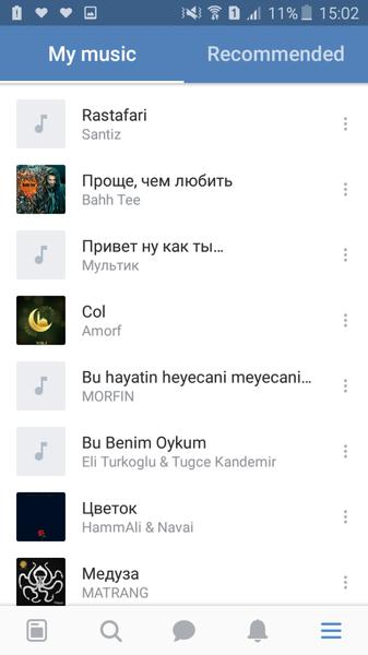 Dinlemeyi sevdiyiniz 3 mahni
