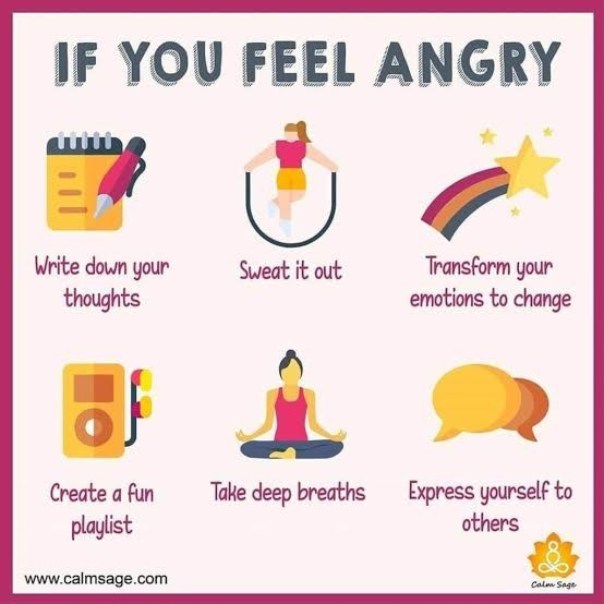 How to overcome anger