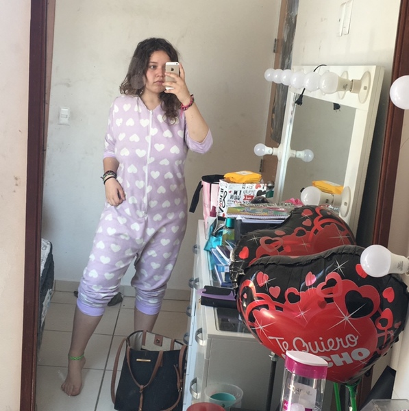 Inserta foto en pijama