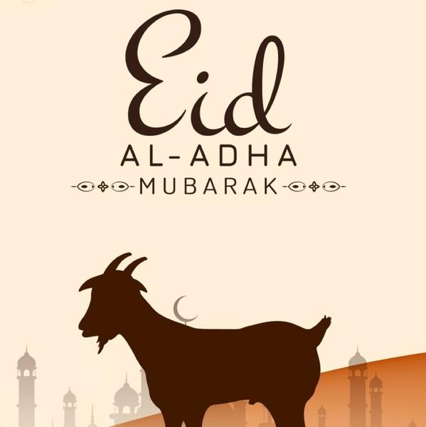 Eid Mubarak to you
