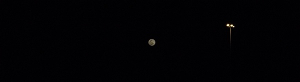 todays moon looks gorgeous