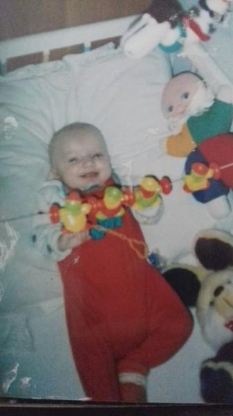 Zdjęcie z dzieciństwa