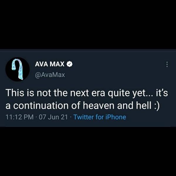Ava potwierdziła że utwór EveryTime I Cry nie jest zapowiedzią następnej ery