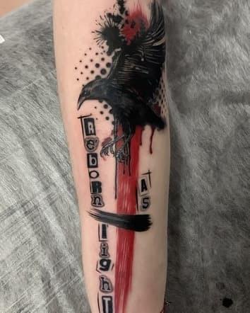 Есть татуировки Покажи если есть