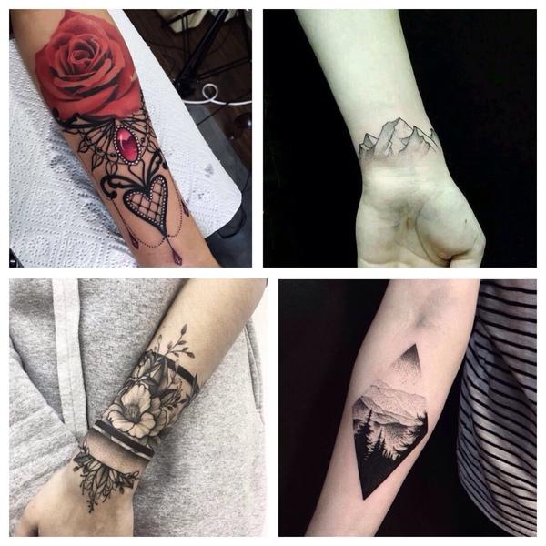 Zdjęcie tatuażu na nadgarstku