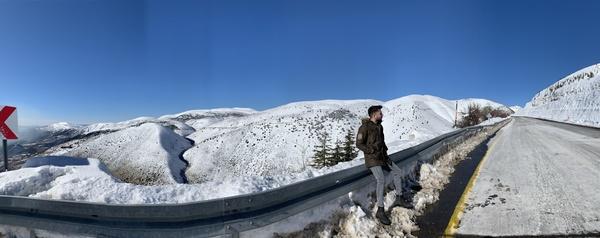 Kar gören masum köylü